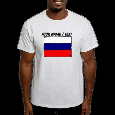 Custom Russia Flag T-Shirt