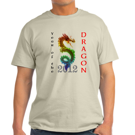Year of the Dragon 2012 Light T-Shirt
