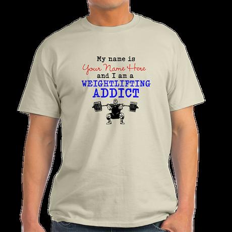 Weightlifting Addict Light T-Shirt