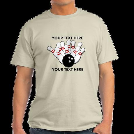 Personalized Bowling Team Original Light T-Shirt