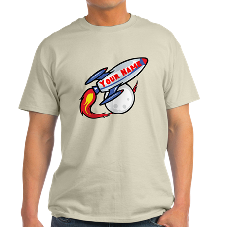 Personalized rocket Light T-Shirt