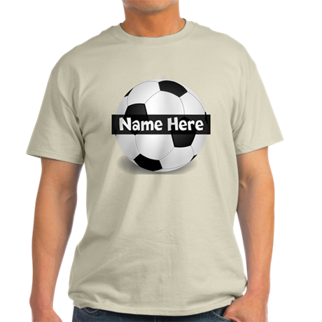 Personalized Soccer Ball Light T-Shirt