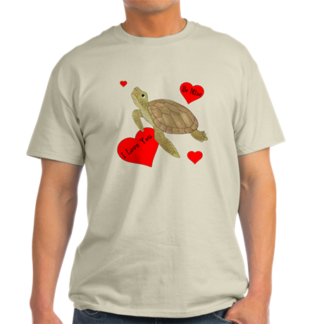 Personalized Turtle Light T-Shirt