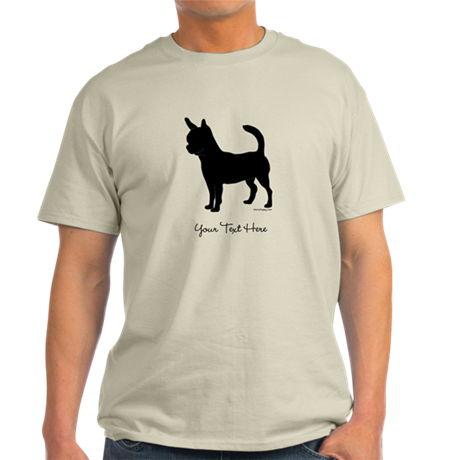 Chihuahua - Your Text Light T-Shirt