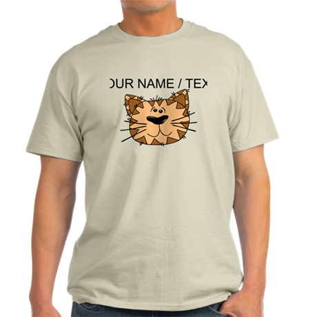 Custom Cat Face T-Shirt