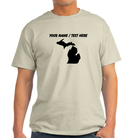 Custom Michigan Silhouette T-Shirt