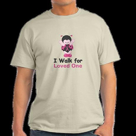 Walk For Ladybug Light T-Shirt