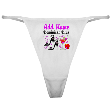 DOMINICAN DIVA Classic Thong