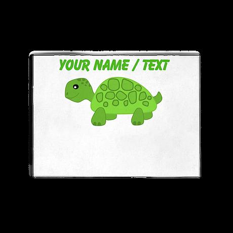 Custom Green Turtle 5'x7'Area Rug