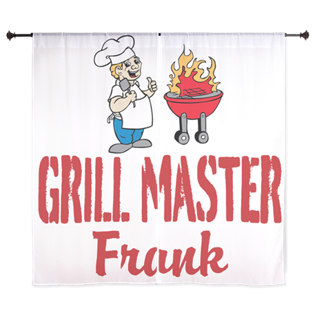 Personalized BBQ Curtains