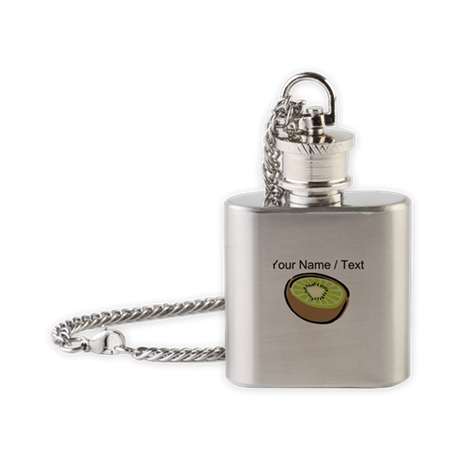 Custom Kiwi Flask Necklace