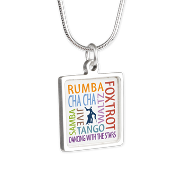 ballroom dancing necklace