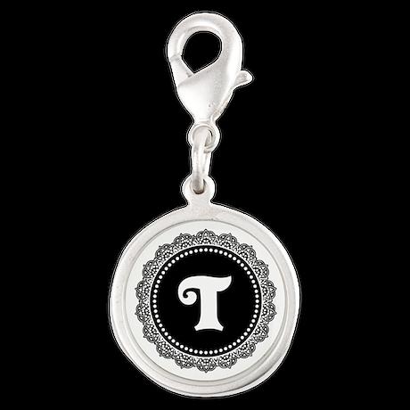 CUSTOM INITIAL Round Monogram Charms