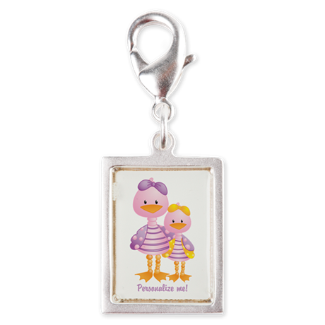 Big Sis Little Sis Ducks - Personlalize Charms