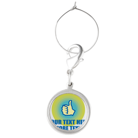 Thumbs Up | Personalized Wine Charms
