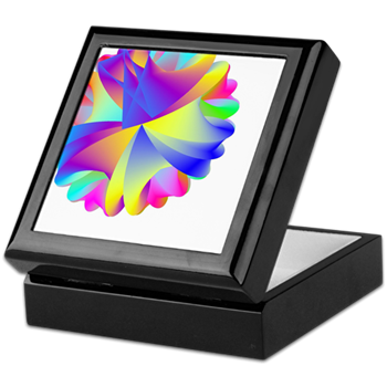 Rainbow Cluster Keepsake Box
