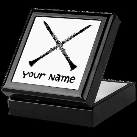 Custom Clarinet Keepsake Box