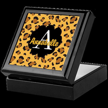 Personalized Name Monogram Gift Keepsake Box by ...