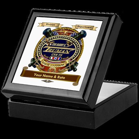 USS Harry S. Truman CVN-75 Keepsake Box
