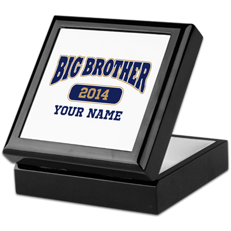 Personalized Big Brother Keepsake Box