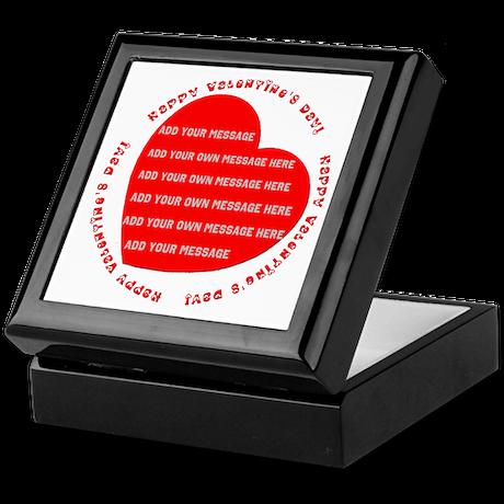 Happy Valentine's Day Keepsake Box