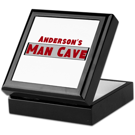Personalized Man Cave Keepsake Box