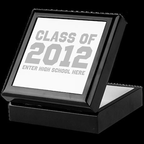 2012 Graduation Keepsake Box