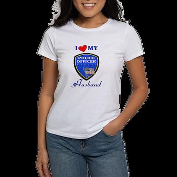 Police Husband Women's T-Shirt