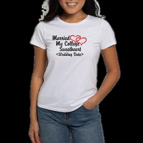 Married College Sweetheart (Wedding Date) Women's