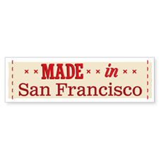 Made In 1_bumpersticker Bumper Bumper Bumper Sticker