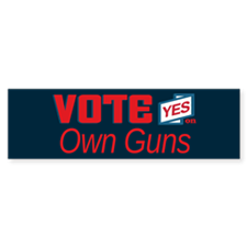 Vote Yes 1_bumpersticker Bumper Bumper Bumper Sticker
