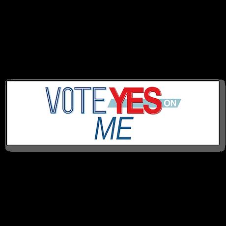 Vote for 8_bumpersticker Bumper Sticker