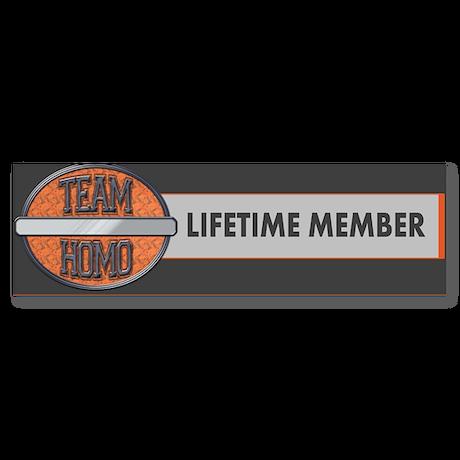 Team Homo (Custom) Sticker (Bumper)