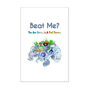 Beat Me Sea Dragons A Billiard Fantasy Poster
