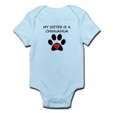 Chihuahua Sister Body Suit