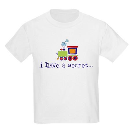 big brother secret train front/back Kids T-Shirt