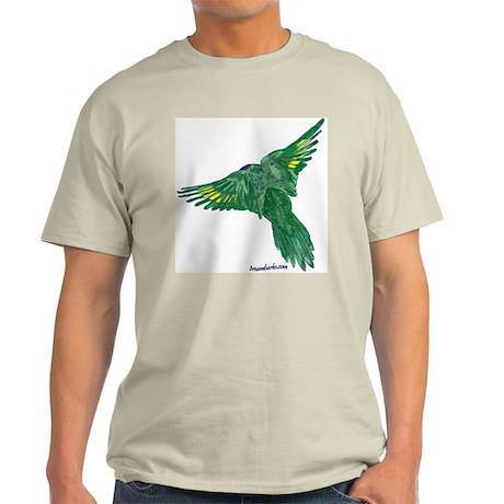 Bird in Flight Ash Grey T-Shirt