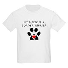 Border Terrier Sister T-Shirt