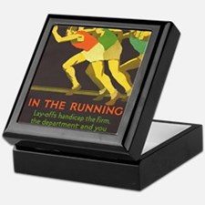In the Running, Motivational, Vintage Poster Keeps