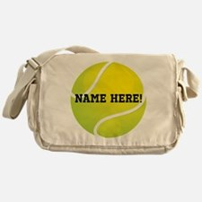 Personalized Tennis Ball Messenger Bag