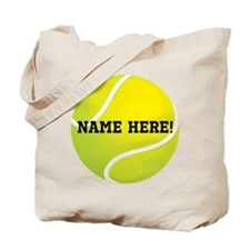 Personalized Tennis Ball Tote Bag