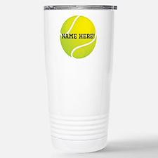 Personalized Tennis Ball Travel Mug