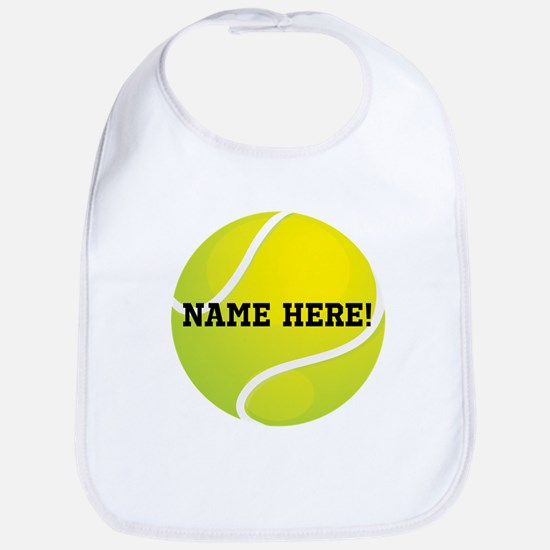 Personalized Tennis Ball Bib