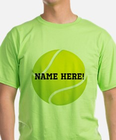 Personalized Tennis Ball T-Shirt