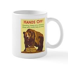 Bear, Motivational, Vintage Poster Mugs