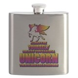 Always be yourself, unless you can be a unicorn Flask Bottles