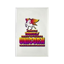 Be A Unicorn Rectangle Magnet (10 pack)