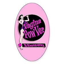 Vagina PowVer Vomen StickVer (oVal)
