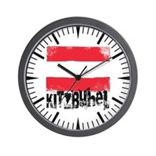 Kitzbühel Grunge Flag Wall Clock