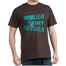 Thyroid Cancer Go Fight Cure T-Shirt